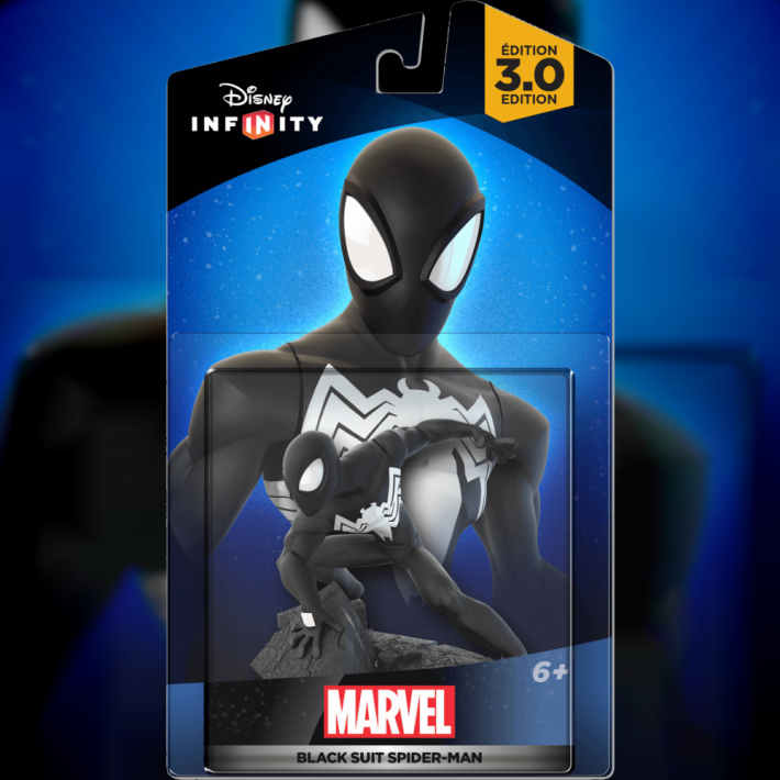 Disney Infinity Black Suit Spiderman 1